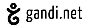 Logo Gandi - hebergeur et gestionnaire de noms de domaines sur internet