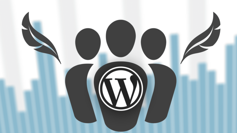 icone illustration des utilisateurs d'un cms wordpress